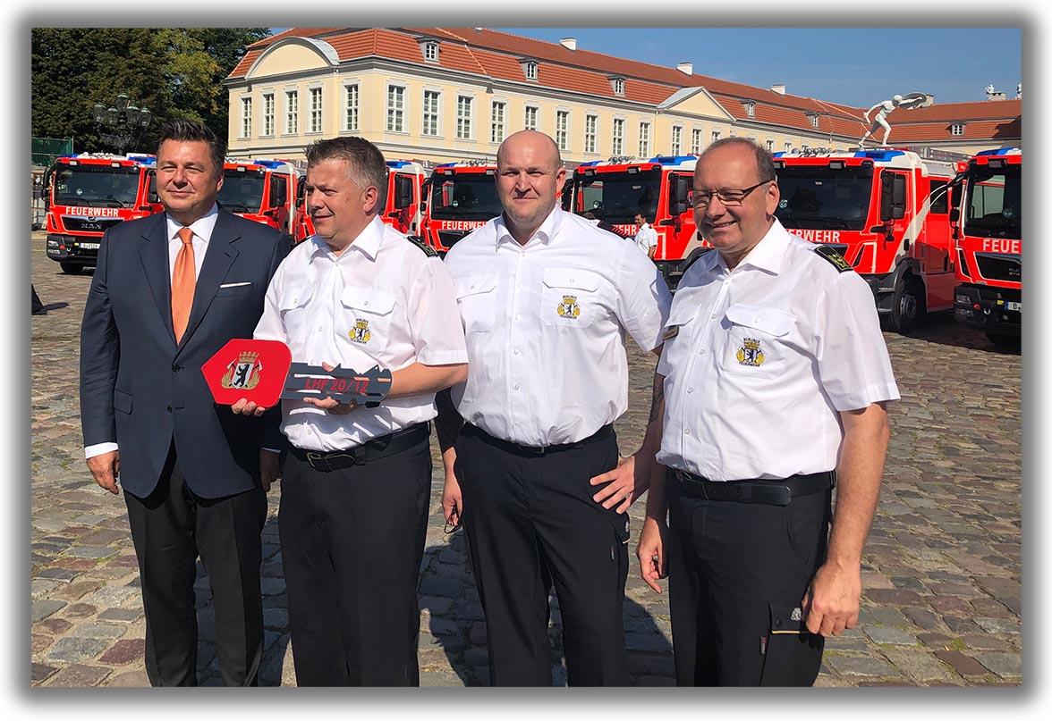 Umsetzung der gemeinsamen Erklärung des Senats für die Berliner Feuerwehr
